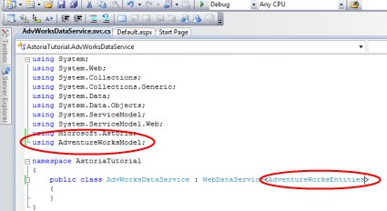 Add namespace and generic type