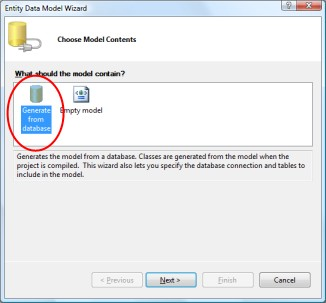 """Select """"Generate From Database"""""""