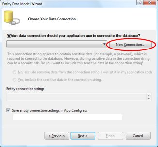 Create new database connection